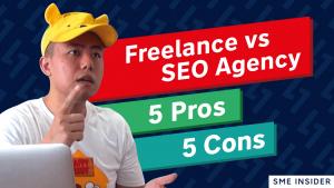 seo agency vs freelancer