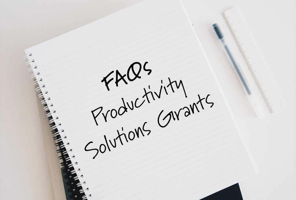 Frequently Asked Questions When Applying for the Productivity Solutions Grant (eCommerce PSG grant)