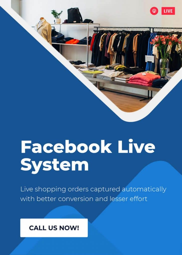 Facebook Live Selling System 12