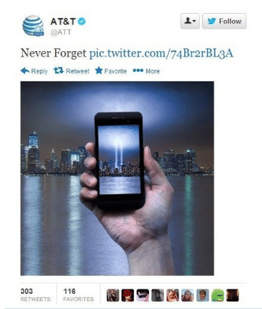 AT&T and the 9/11 Tragedy
